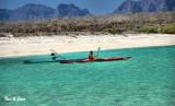 kayaking around  the islands