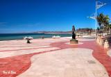 malecon at La  Paz