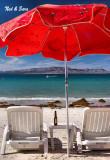 day's end at  Playa Tecolote