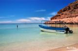 isolated beach