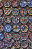 shopping for  painted plates in Todos Santos