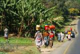 women carrying goods to market