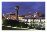 Knoxville at night
