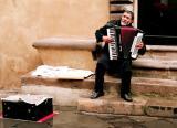 Street musician, Lucca