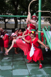 New Orleans'Hash House Harriers Red Dress Run
