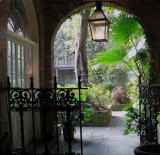 New Orleans House and Courtyard
