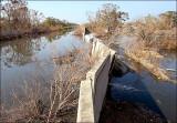 Broken Floodwalls Following Hurricane Katrina