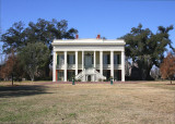 Bocage Plantation in Winter