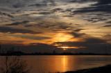 Sunset on the Mississippi