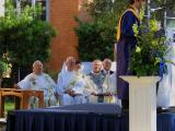 Baccalaureate Mass Under the Oaks on Campus
