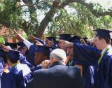 Graduates Sing the Holy Cross Alma Mater