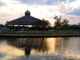 Pavilion at Sunset