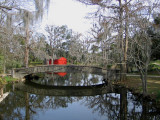 Newly Painted Boat House and Return of Spanish Moss