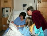 Mother Susan & James, Brenna, and Grandma
