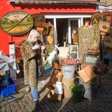 Portobello Market Trader
