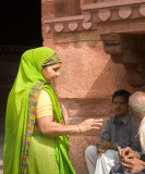 Red Fort Visitors