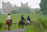 Riders Near Bolton Castle