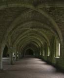 Monks' Cellarium, Fountains Abbey