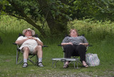 A Couple Enjoying The Lake District