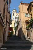 Narrow Street In Villefranche-sur-Mer