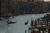 A View Of The Grand Canal From The Rialto Bridge