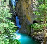 Lower Johnston Canyon Falls, Banff National Park