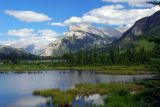 Mt. Rundle And The Vermilion Lakes