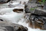 Rapids At Maligne Canyon