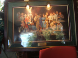 A picture on a wall at Andy Griffith's Playhouse..[