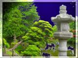 Tea garden lamp