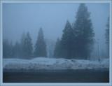 Snow-haze