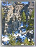 Tahoe Rocks and Snow