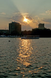 The Charles River: A Sunset