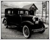 Aunt Peggy Model A Ford  pengu1n