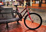 Bike and Benchby Glyn