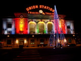Denver Union Station Xmas by Ed Sargent
