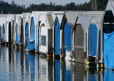 Boathouses  by DebbyD