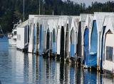Boathouses at the Blue Peter  by DebbyD