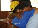 A friend hug by Tabrizi