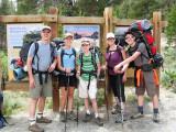 California Camping / Backpack Trip - 2009