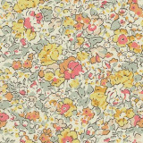 Fabric detail: Liberty's Claire Aude in yellow
