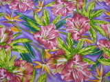 The fabric: a tropical print cotton from Got Fabric