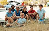 1988 Lassen Vacation Group Shot