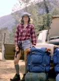 Linda Backpacking
