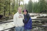 Linda and Tim on the Rogue River