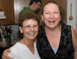 Diane and Linda