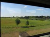 Rückfahrt im Zug