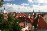Tallinn Panorama with sea in the background