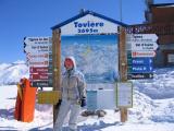 climbing higher - highest is Grande Motte at 3420m