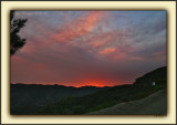 Premature Late Afternoon Sunset, Courtesy Local Brushfires '06